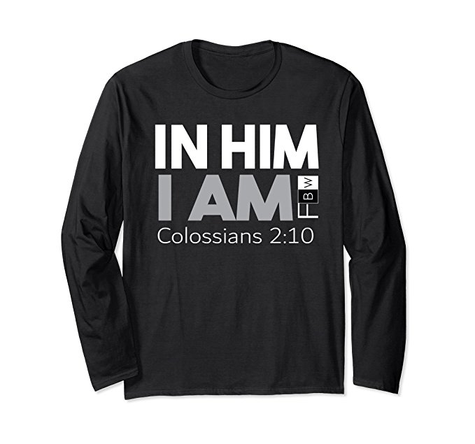 IN HIM I AM